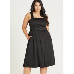 NEW City Chic So Fab Fit and Flare Dress
